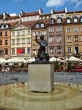Warsaw Mermaid (Syrenka Warszawska) Royalty Free Stock Image