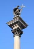 Warsaw monument Stock Photo