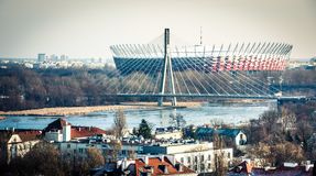 Warsaw National Stadium Stock Photo