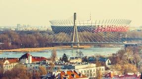 Warsaw National Stadium Royalty Free Stock Photos