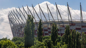 Warsaw national stadium Royalty Free Stock Images