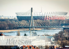 Warsaw National Stadium Royalty Free Stock Photo