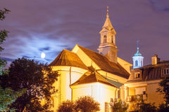 Warsaw. Old church Royalty Free Stock Photos