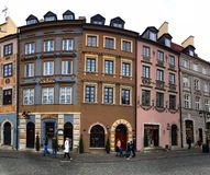 Warsaw Old City stock image