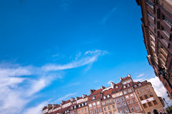 Warsaw Old Square abstract Royalty Free Stock Image