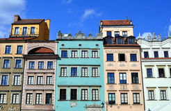 Warsaw Old Town. Royalty Free Stock Images