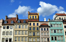 Warsaw Old Town. Stock Images