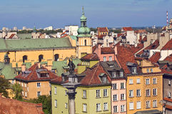 Warsaw Old Town. Stock Photo