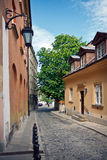 Warsaw - Old Town. Warsaw downtown,  XIX century Old Town streets Royalty Free Stock Photo