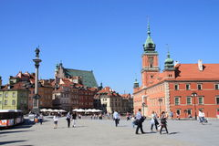 Warsaw Old Town Royalty Free Stock Image