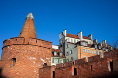 Warsaw Old Town Architecture Royalty Free Stock Photo