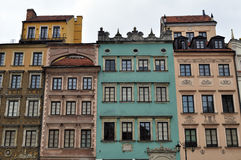 Warsaw Old Town. Royalty Free Stock Photos