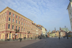 Warsaw old town Royalty Free Stock Images