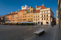 Warsaw Old Town Market Place Royalty Free Stock Photos