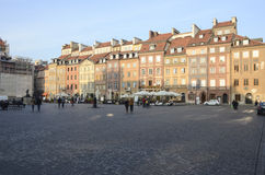 Warsaw old town marketplace Stock Images