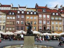 Warsaw. The old town of Warsaw, Poland, architecture Royalty Free Stock Photo