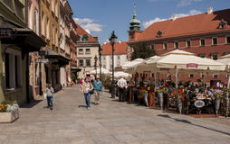 Warsaw old town Stock Photos