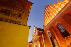 Warsaw Old Town royalty free stock photos