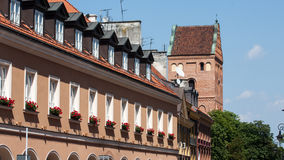 Warsaw old town in Poland Royalty Free Stock Image