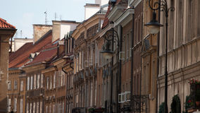 Warsaw old town in Poland Royalty Free Stock Images