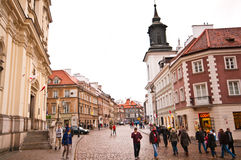 Warsaw old town Stock Photography