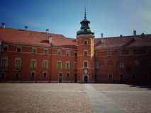Warsaw Old Town, Royal Castle. The Royal Castle in Warsaw. Located in the Castle Square, at the entrence to the Warsaw Old Town Stock Photography
