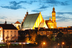 Warsaw Old Town, St. John's Cathedral, Warsaw Stock Image