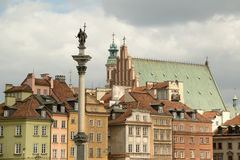 Warsaw Old Town Royalty Free Stock Photography