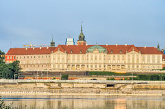 Warsaw Old Town view over Vistula River Stock Photos