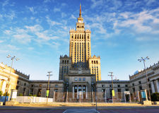 Warsaw, Palace of Culture, Poland Royalty Free Stock Image