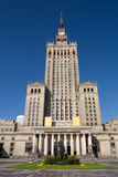 Warsaw Palace of Culture and Science Royalty Free Stock Photography