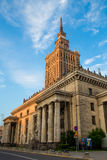 Warsaw Palace of Culture and Science Royalty Free Stock Photos