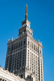 Warsaw Palace of Culture and Science Stock Photos