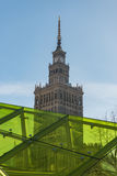 Warsaw Palace of Culture and Science Stock Photography