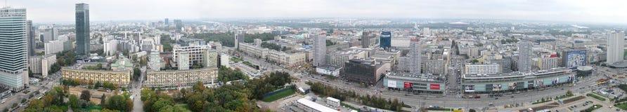 Warsaw panorama Royalty Free Stock Photos