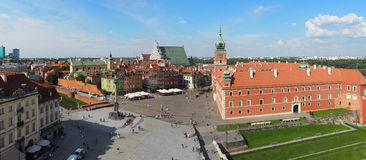 Warsaw panorama Royalty Free Stock Photography