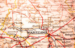 Warsaw, Poland Royalty Free Stock Photos