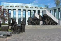 Warsaw, Poland - April 21, 2019: Warsaw Uprising Monument in Warsaw city