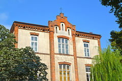 WARSAW, POLAND. Building of clinic of obstetrics and gynecology Royalty Free Stock Image