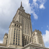 Warsaw, Poland. City center with Palace of Culture and Science ( Stock Photo