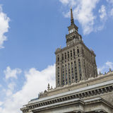 Warsaw, Poland. City center with Palace of Culture and Science ( Stock Photography
