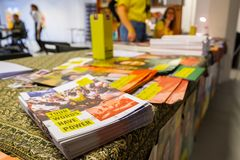Write For Rights, biggest human rights event of Amnesty International stock photography