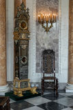 WARSAW, POLAND/EUROPE - SEPTEMBER 17 : Interior of the Wilanow P. Alace in Warsaw Poland on September 17, 2014 stock images