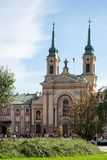 WARSAW, POLAND/EUROPE - SEPTEMBER 17 : Military Cathedral in War stock photo