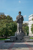 WARSAW, POLAND/EUROPE - SEPTEMBER 17 : 1st Polish Army Soldier M Royalty Free Stock Photography