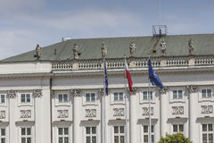 WARSAW, POLAND - JULY 09, 2015: Presidential Palace in Warsaw Stock Photography