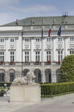 WARSAW, POLAND - JULY 09, 2015: Presidential Palace in Warsaw Stock Photo