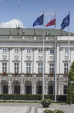 WARSAW, POLAND - JULY 09, 2015: Presidential Palace in Warsaw Royalty Free Stock Photography