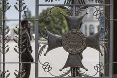 WARSAW, POLAND - JULY, 08: The Tomb of the Unknown Soldier Stock Image