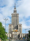 WARSAW, POLAND - JUNE 16: Palace of Culture and Science in Warsa Stock Photography